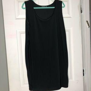 Midi slinky dress